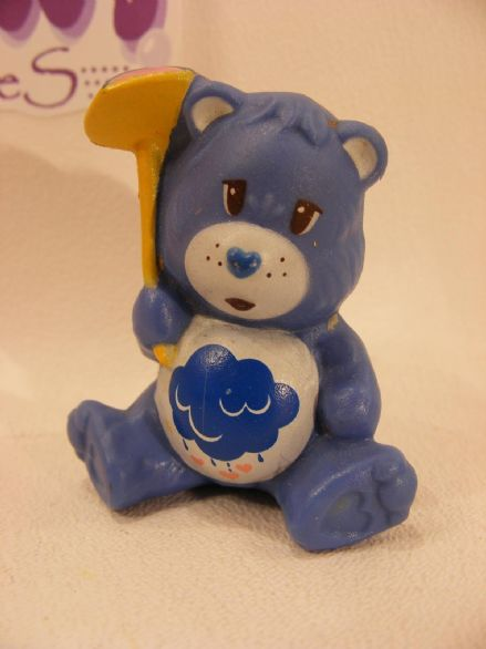 VINTAGE GRUMPY CARE BEARS MINIATURE - UMBRELLA